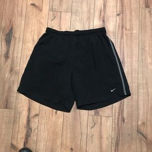 Nike medium black sports shorts.